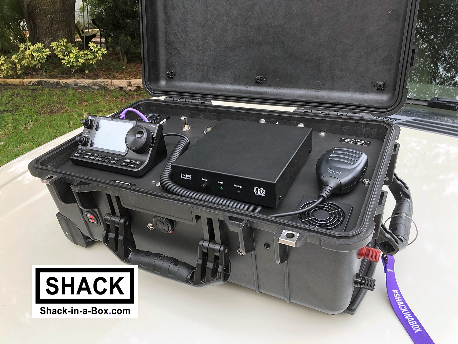 Shack-in-a-Box HF/VHF/UHF All-in-One with Yaesu FT-991A and FTM400XDR